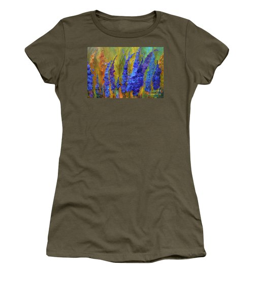 Delphiniums Women's T-Shirt
