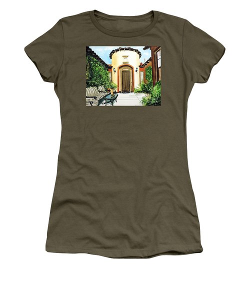 Desert Getaway Women's T-Shirt (Athletic Fit)