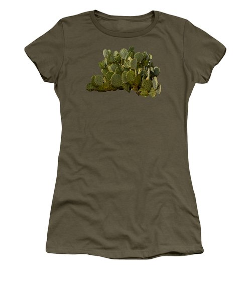 Desert Prickly-pear No6 Women's T-Shirt (Junior Cut) by Mark Myhaver