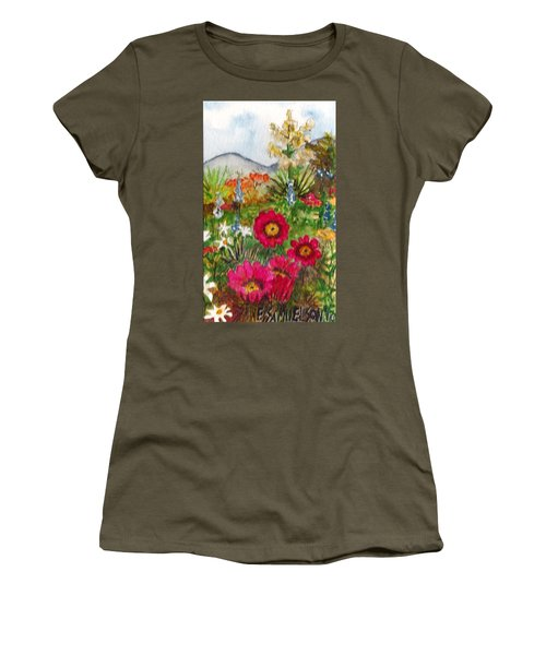 Desert Spring Women's T-Shirt (Athletic Fit)