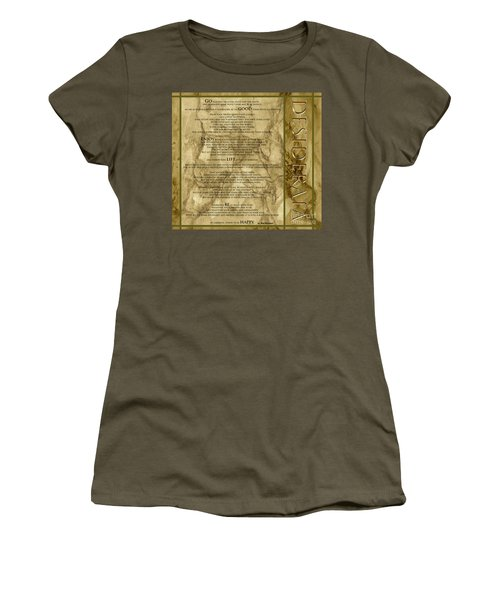 Desiderata #8 Women's T-Shirt (Athletic Fit)
