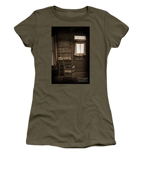 Desk And Chair Women's T-Shirt (Athletic Fit)