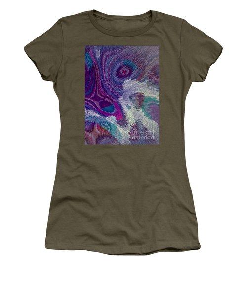 Genetic Modified Iris Women's T-Shirt (Junior Cut) by Moustafa Al Hatter