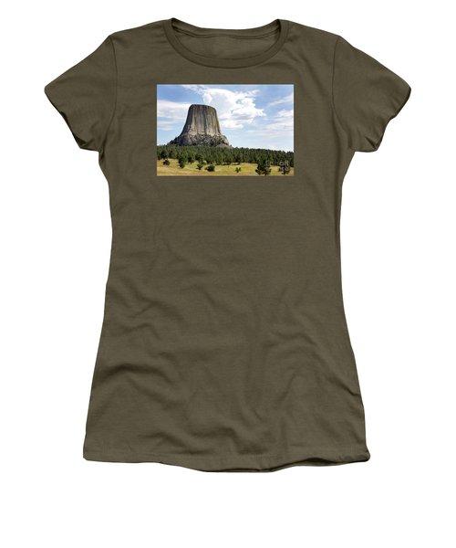 Devils Tower National Monument Women's T-Shirt