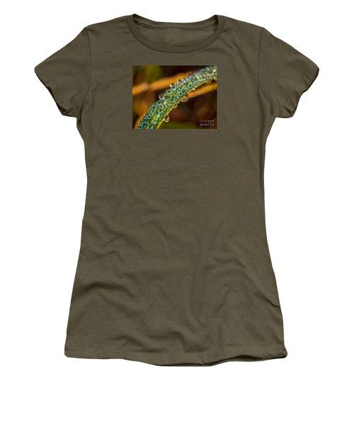 Dew Drop Reflection Women's T-Shirt (Junior Cut) by Tom Claud