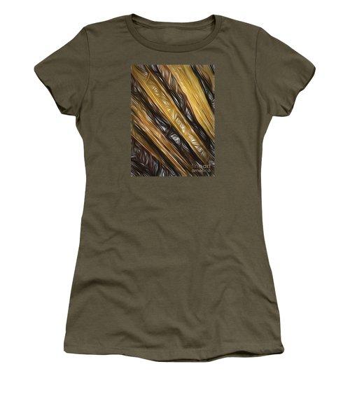 Diagonals  ... Women's T-Shirt (Junior Cut) by Chuck Caramella