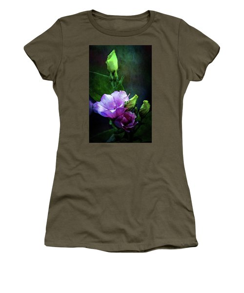 Digital Watercolor Elegance 3700 W_2 Women's T-Shirt (Athletic Fit)