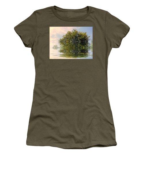 Dimensional Women's T-Shirt (Junior Cut) by Elfriede Fulda