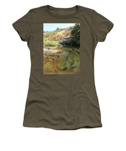 Women's T-Shirt (Athletic Fit) featuring the photograph Dimensions by Sean Sarsfield