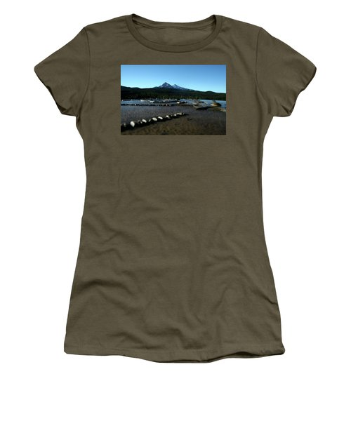 Women's T-Shirt (Junior Cut) featuring the photograph Directional Points by Laddie Halupa