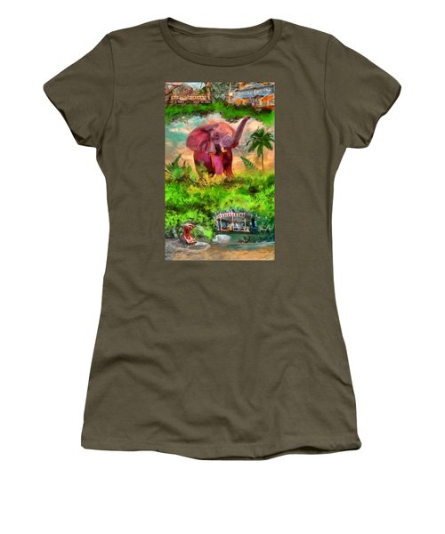 Disney's Jungle Cruise Women's T-Shirt (Athletic Fit)