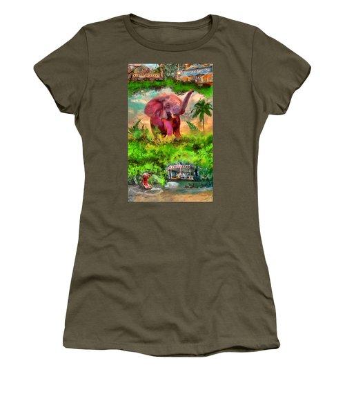 Disney's Jungle Cruise Women's T-Shirt (Athletic Fit)