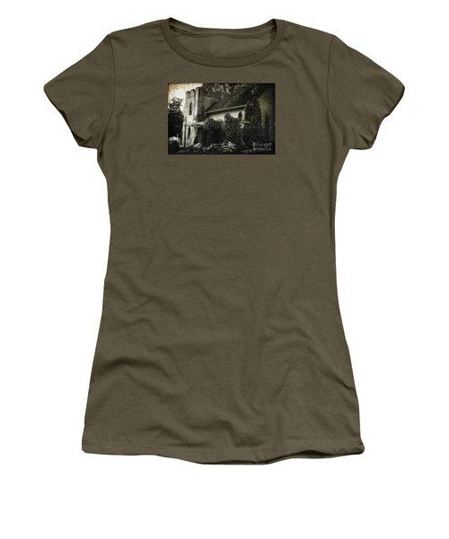 Distressed Women's T-Shirt (Junior Cut) by Judy Wolinsky