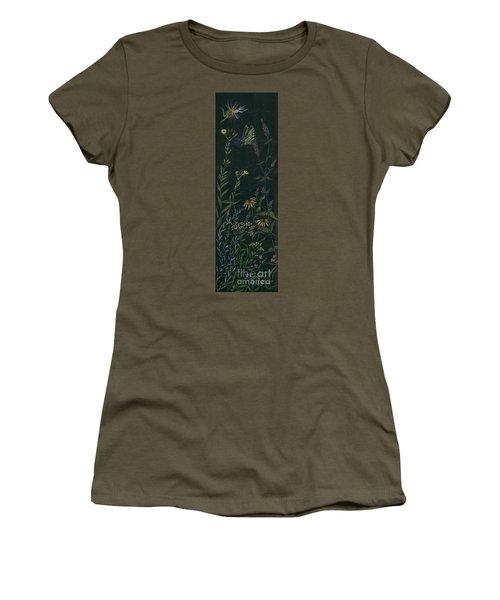 Ditchweed Fairy Tiger Swallowtail Women's T-Shirt (Junior Cut) by Dawn Fairies