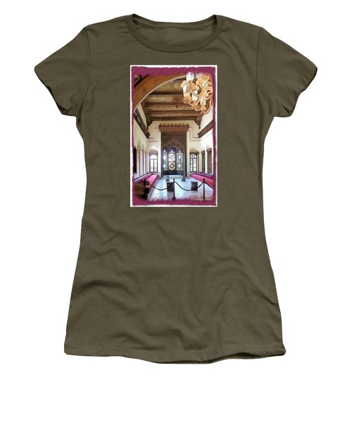 Do-00448 Reception Room At Beiteddine Women's T-Shirt (Athletic Fit)