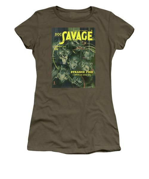 Doc Savage Strange Fish Women's T-Shirt