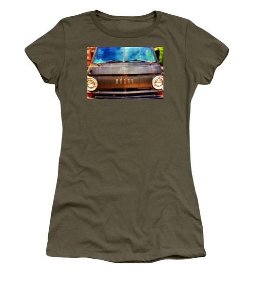 Dodge In Town Women's T-Shirt (Junior Cut) by Olivier Calas