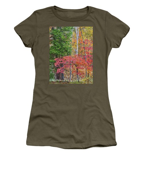 Dogwood And Cedar Women's T-Shirt (Athletic Fit)