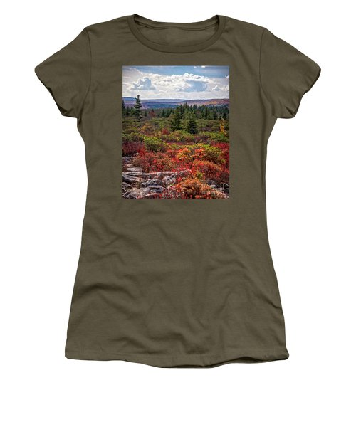 Dolly Sods Wilderness In Autumn 4273 Women's T-Shirt