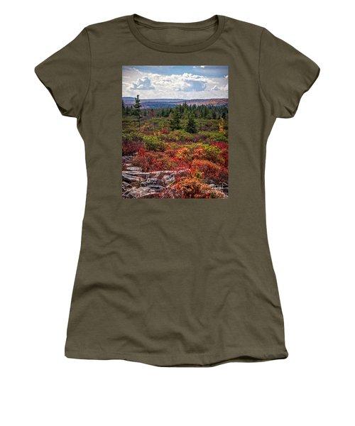 Dolly Sods Wilderness In Autumn 4273 Women's T-Shirt