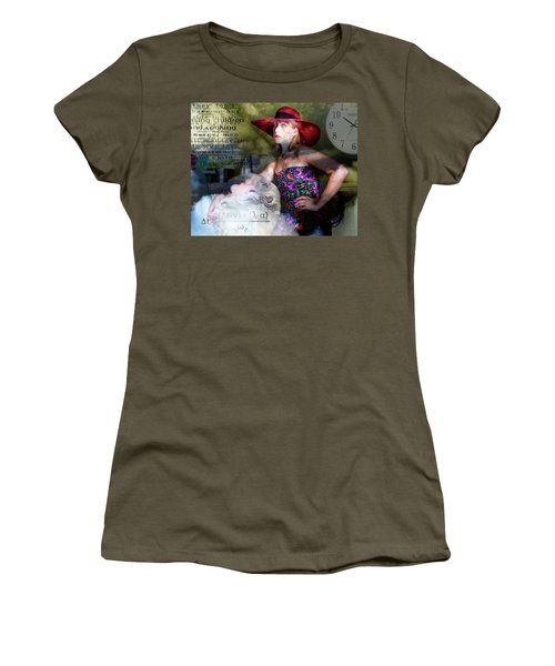 Domestic Considerations Kronos' Daughter Women's T-Shirt (Junior Cut) by Ann Tracy