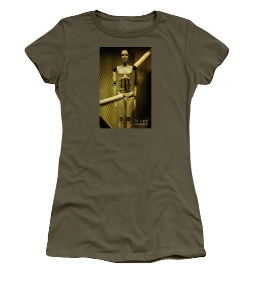Women's T-Shirt (Junior Cut) featuring the photograph Domo Arigato Ms. Robato by Craig Wood