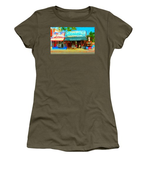 Donkey Leather Shop Women's T-Shirt (Junior Cut) by Gerhardt Isringhaus