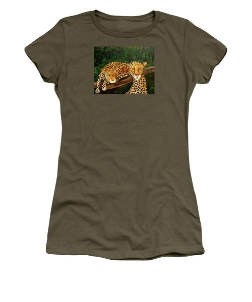 Don't Bother Me It's Naptime Women's T-Shirt (Junior Cut) by Lisa Aerts