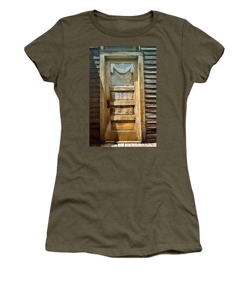 Doors Of St Elmo I Women's T-Shirt (Junior Cut) by Ellen Heaverlo