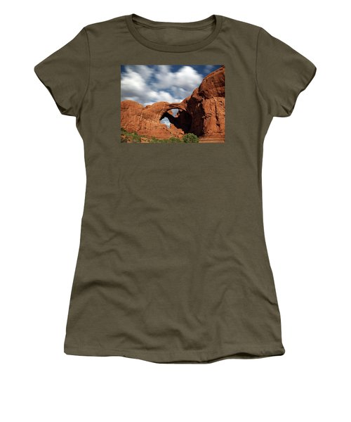 Double Arch In The Moonlight Women's T-Shirt