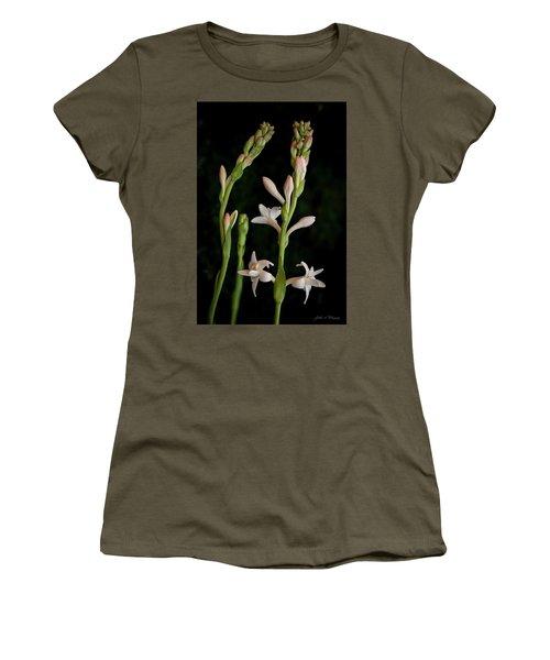 Double Tuberose In Bloom #2 Women's T-Shirt