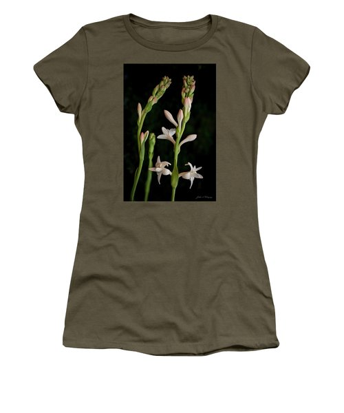 Double Tuberose In Bloom #2 Women's T-Shirt
