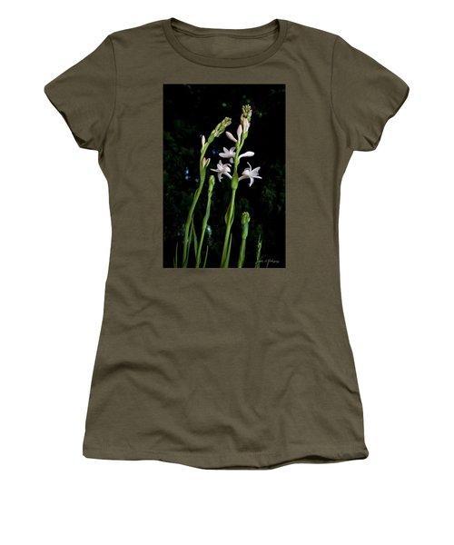 Double Tuberose In Bloom Women's T-Shirt