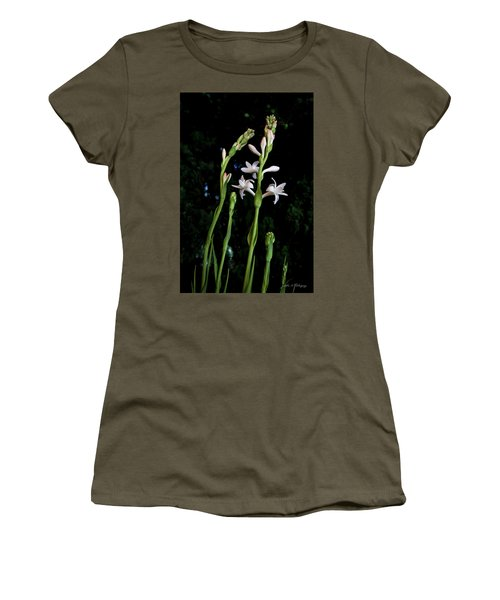 Double Tuberose In Bloom Women's T-Shirt