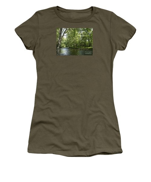 Down Beside Where The Waters Flow Women's T-Shirt
