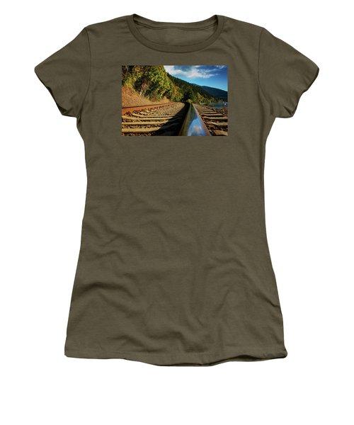 Down The Chukanut Line Women's T-Shirt