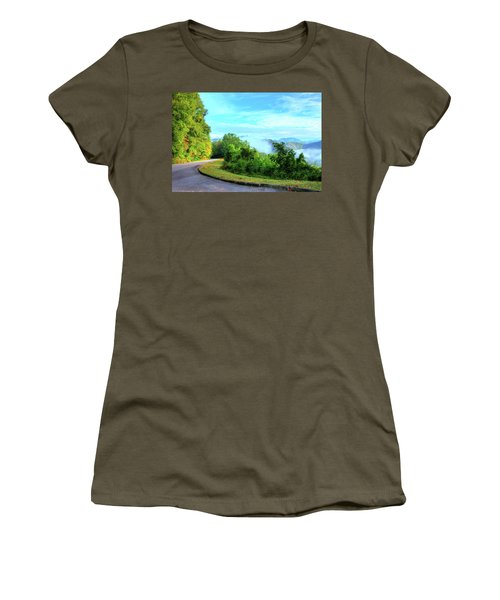 Down The Mountain Women's T-Shirt