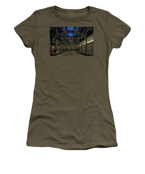 Downtown Christmas Decorations - Washington Women's T-Shirt