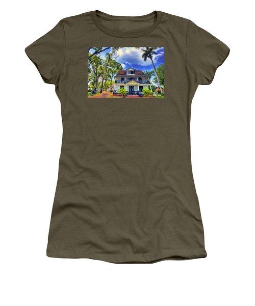 Downtown In The Tropics Women's T-Shirt