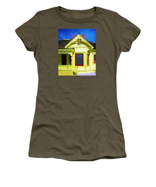 Dr. Clark's House 2 Women's T-Shirt (Junior Cut) by Timothy Bulone