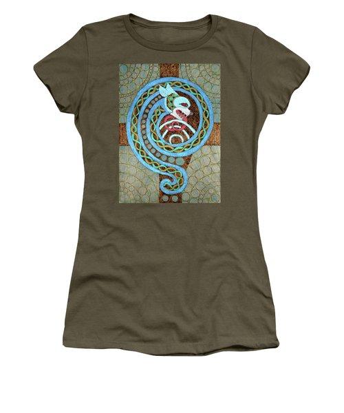 Dragon And The Circles Women's T-Shirt