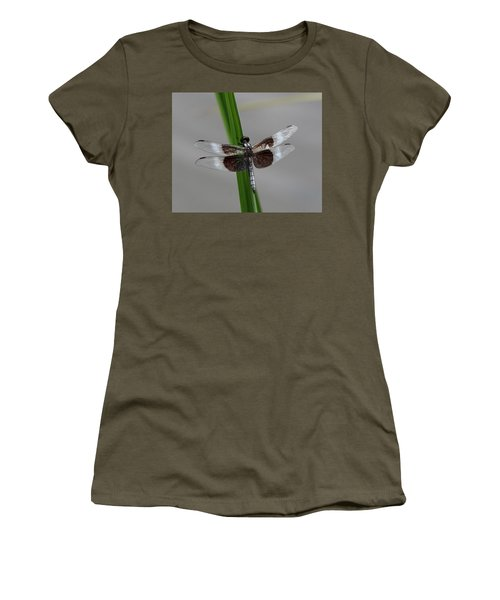 Women's T-Shirt (Junior Cut) featuring the photograph Dragon Fly by Jerry Battle