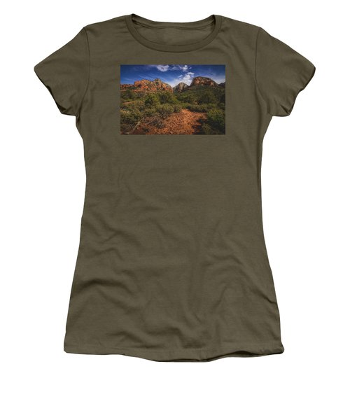 Dramatic Cloudscape Over Capitol Butte Women's T-Shirt