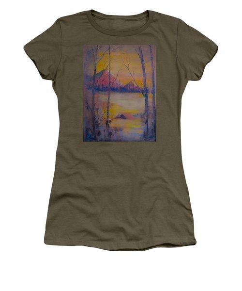 Dream Haze Women's T-Shirt (Athletic Fit)