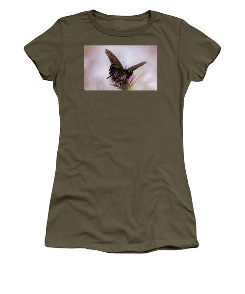 Dream Of A Butterfly Women's T-Shirt (Junior Cut) by Rima Biswas