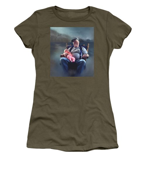 Dreaming With Grandpa Women's T-Shirt