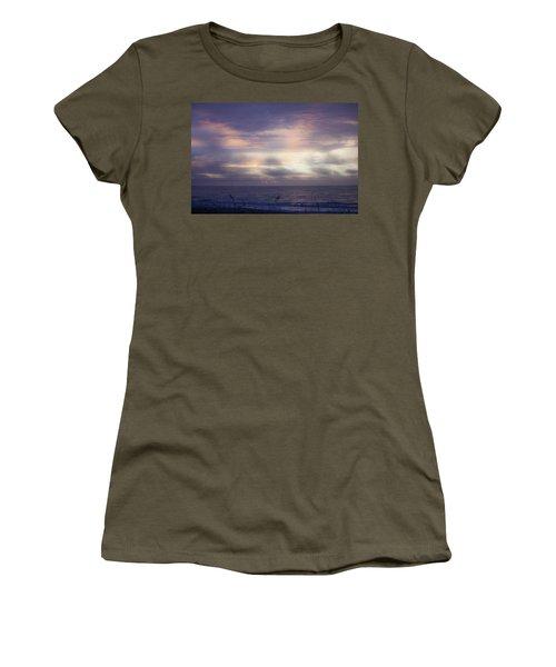 Dreamy Blue Atlantic Sunrise Women's T-Shirt
