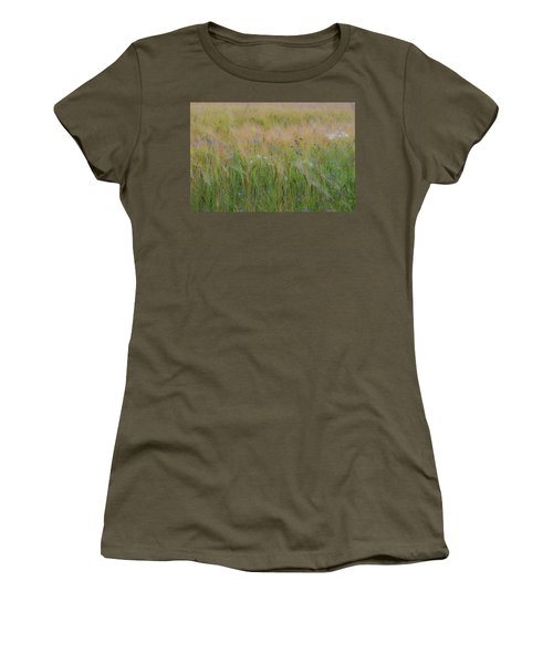 Dreamy Meadow Women's T-Shirt (Athletic Fit)