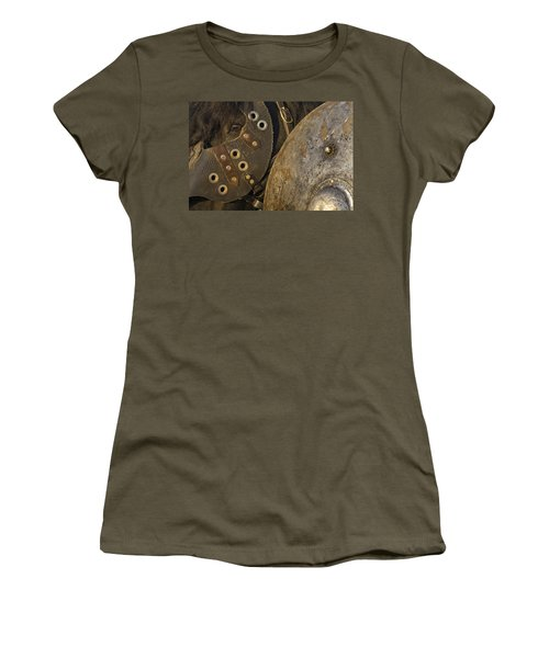 Women's T-Shirt (Junior Cut) featuring the photograph Dressed For Battle D6722 by Wes and Dotty Weber