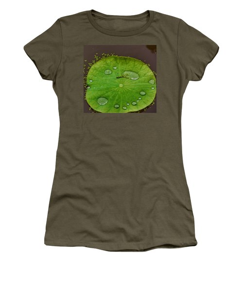 Droplets I Women's T-Shirt (Athletic Fit)